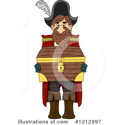 Royalty-Free (RF) Pirate Clipart Illustration by BNP Design Studio - Stock Sample #1212997