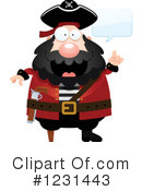 Pirate Clipart #1231443 by Cory Thoman