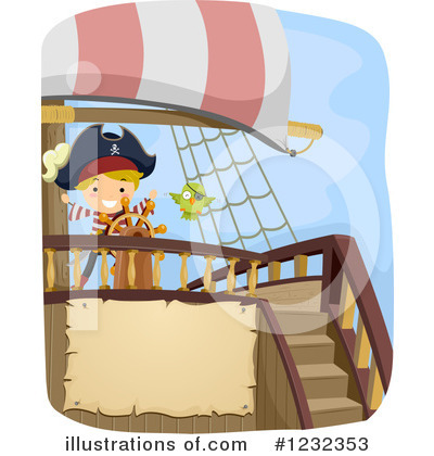 Pirate Clipart #1232353 by BNP Design Studio