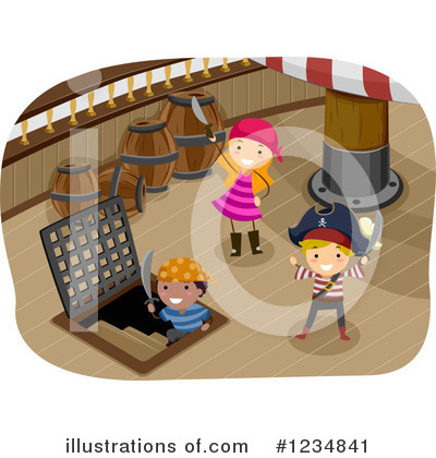 Royalty-Free (RF) Pirate Clipart Illustration by BNP Design Studio - Stock Sample #1234841