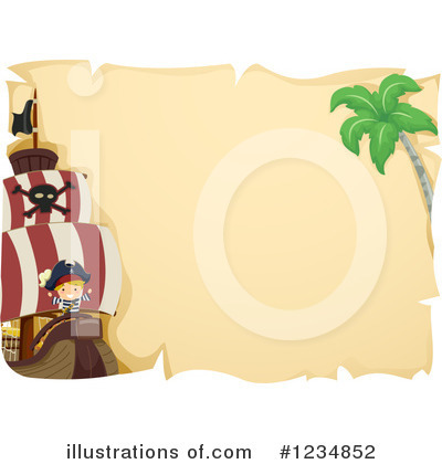 Royalty-Free (RF) Pirate Clipart Illustration by BNP Design Studio - Stock Sample #1234852