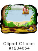 Royalty-Free (RF) Pirate Clipart Illustration #1234854