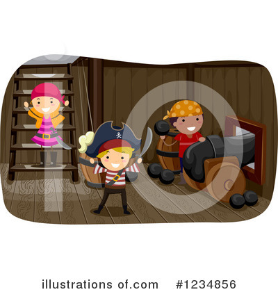 Royalty-Free (RF) Pirate Clipart Illustration by BNP Design Studio - Stock Sample #1234856