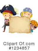 Royalty-Free (RF) Pirate Clipart Illustration #1234857