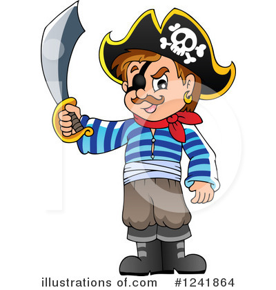 Pirate Clipart #1241864 by visekart