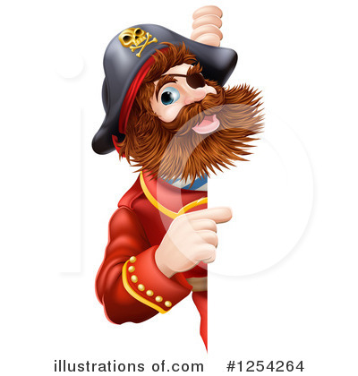 Pirate Clipart #1254264 by AtStockIllustration