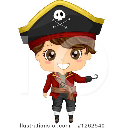 Pirate Clipart #1262540 by BNP Design Studio
