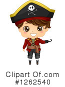 Royalty-Free (RF) Pirate Clipart Illustration #1262540