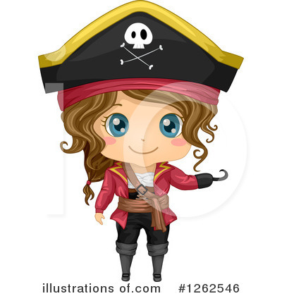 Pirate Clipart #1262546 by BNP Design Studio