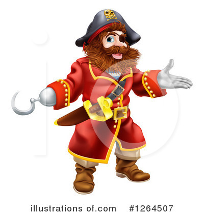 Pirate Clipart #1264507 by AtStockIllustration