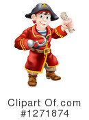 Royalty-Free (RF) Pirate Clipart Illustration #1271874