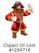 Royalty-Free (RF) Pirate Clipart Illustration #1299716