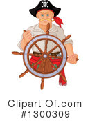Pirate Clipart #1300309 by Pushkin