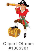 Pirate Clipart #1306901 by Pushkin