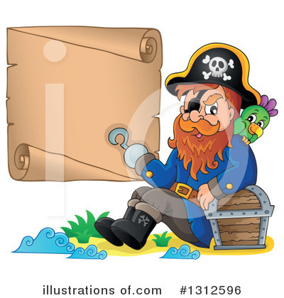 Pirate Clipart #1312596 by visekart