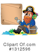 Royalty-Free (RF) Pirate Clipart Illustration #1312596