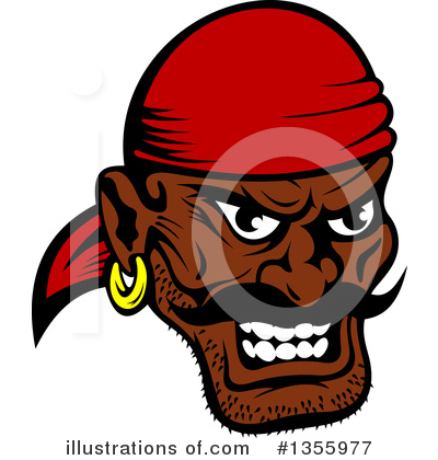 Pirate Clipart #1355977 by Vector Tradition SM