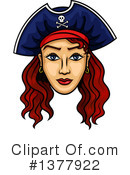 Pirate Clipart #1377922 by Vector Tradition SM