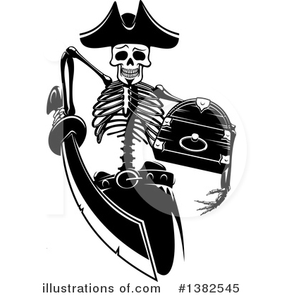 Pirate Clipart #1382545 by Vector Tradition SM
