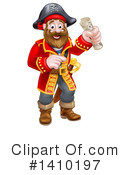 Pirate Clipart #1410197 by AtStockIllustration