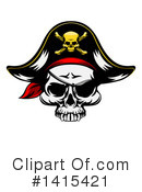 Royalty-Free (RF) Pirate Clipart Illustration #1415421
