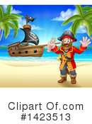 Pirate Clipart #1423513 by AtStockIllustration