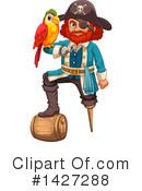 Royalty-Free (RF) Pirate Clipart Illustration #1427288