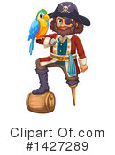 Royalty-Free (RF) Pirate Clipart Illustration #1427289