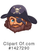 Royalty-Free (RF) Pirate Clipart Illustration #1427290