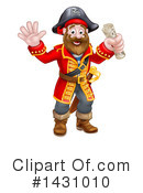 Royalty-Free (RF) Pirate Clipart Illustration #1431010