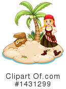 Royalty-Free (RF) Pirate Clipart Illustration #1431299