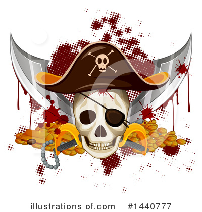 Royalty-Free (RF) Pirate Clipart Illustration by Graphics RF - Stock Sample #1440777