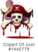 Royalty-Free (RF) Pirate Clipart Illustration #1440779