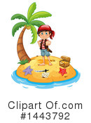 Royalty-Free (RF) Pirate Clipart Illustration #1443792