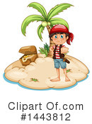 Royalty-Free (RF) Pirate Clipart Illustration #1443812