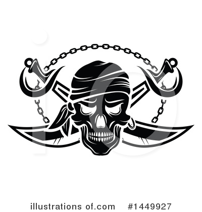 Pirate Clipart #1449927 by Vector Tradition SM
