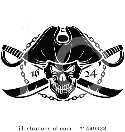 Pirate Clipart #1449928 by Vector Tradition SM
