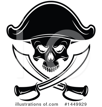 Pirate Clipart #1449929 by Vector Tradition SM