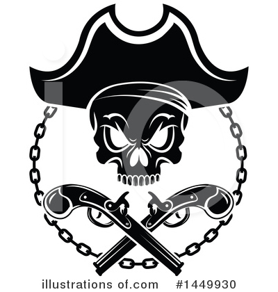 Pirate Clipart #1449930 by Vector Tradition SM