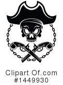 Royalty-Free (RF) Pirate Clipart Illustration #1449930