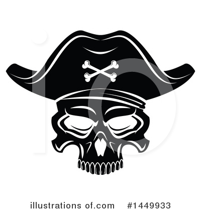 Pirate Clipart #1449933 by Vector Tradition SM