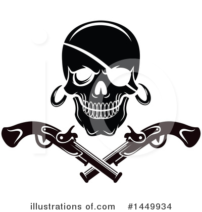 Pirate Clipart #1449934 by Vector Tradition SM