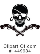 Royalty-Free (RF) Pirate Clipart Illustration #1449934
