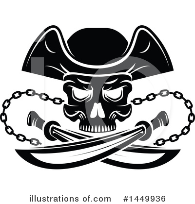 Pirate Clipart #1449936 by Vector Tradition SM