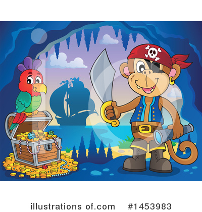 Pirate Ship Clipart #1453983 by visekart