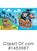 Pirate Clipart #1453987 by visekart