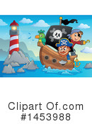 Pirate Clipart #1453988 by visekart