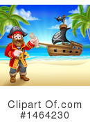 Pirate Clipart #1464230 by AtStockIllustration