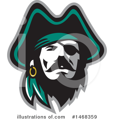 Pirate Clipart #1468359 by patrimonio