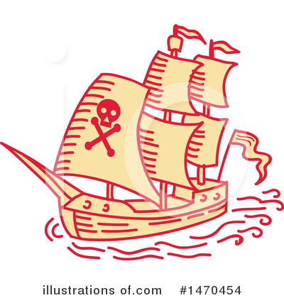 Pirate Clipart #1470454 by patrimonio
